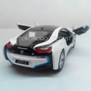 Diecast Miniatur Mobil Bmw I8 Putih Jual Tokomoro Hitam Mainan