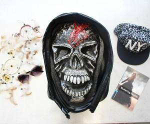 harga tas ransel unik skull tengkorak 3D kode SB 006 Tokopedia.com