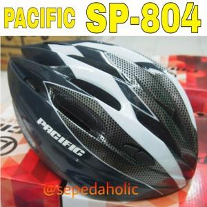 Helm sepeda Pacific SP 804 (hitam kebiruan)