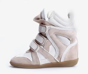 harga Sneaker Wedges Isabel Marant Cream White Tokopedia.com