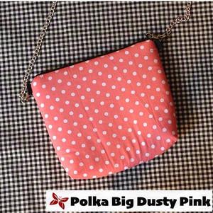 Kode Polka Big Dusty Pink
