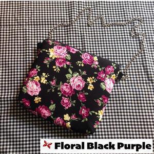 Kode Floral Black Purple