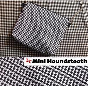 Kode mono Mini houndstooth