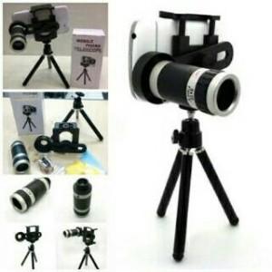 Lensa Telezoom 8x plus Tripod (Mobile Telescope) Murmer Cuy !!!