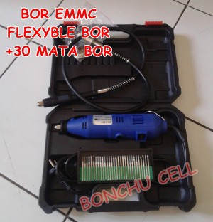 harga BOR EMMC FLEXIBLE + 30 MATA BOR SET Tokopedia.com