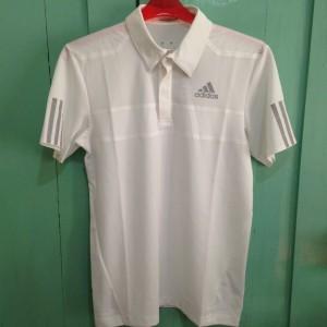 harga Adidas Barricade Climacool Polo Putih Size L. Kaos Polo/ Olahraga Tokopedia.com