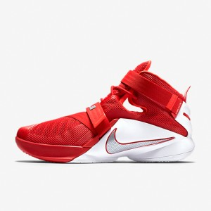 6d563d70386 Sepatu Basket Nike Lebron Soldier 9 University Red Original . ...