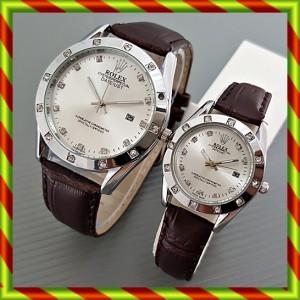 harga Rolex Couple Kulit Tanggal CoklatPth | Jam Tangan Pasangan Swiss Army Tokopedia.com