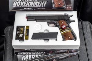harga Tokyo Marui Spring Colt 1911 Government airsoft gun with Hop-Up Tokopedia.com