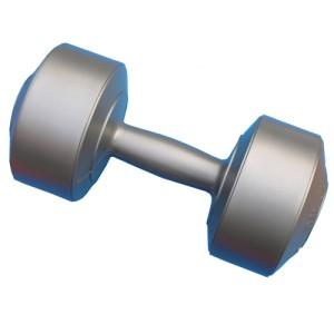 Dumbell Plastik 4kg Silver, Win Star
