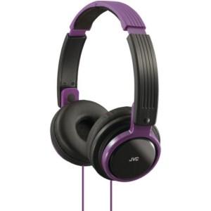 JVC Headphones Riptidz Series HA-S200 Purple