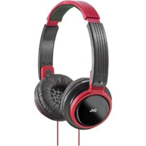 JVC Headphones Riptidz Series HA-S200 Red