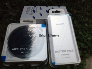 Samsung Galaxy Note 5 32GB SEIN + Wireless Charger & Battery Pack Ori