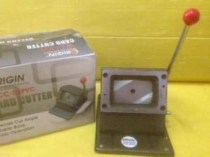 Alat Pemotong PVC Card Kartu Member / Plong ID Card Cutter