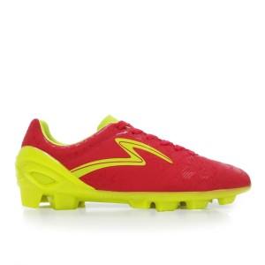 Sepatu Bola Specs Stinger Fg - Grown Red/Toxic Green