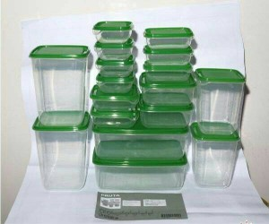Toples / Food Container ikea pruta 1 set isi 17pcs
