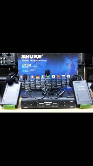 harga Mic UHF wireless shure UT 42 ll Double Mic clip on & headset Tokopedia.com