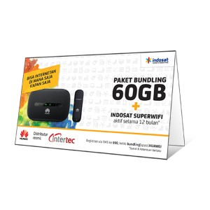 Perdana Indosat Internet Quota 60GB Setahun