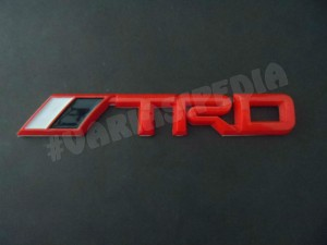 Emblem Fashion TRD Red