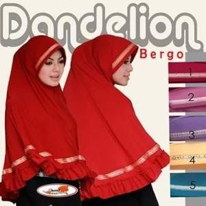 Jilbab Bergo Dandelion / Khimar Bergo Dandelion