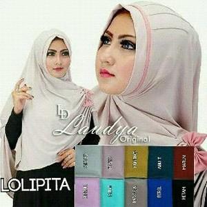 Jilbab Lolipita / Khimar lolipita / Loli pita