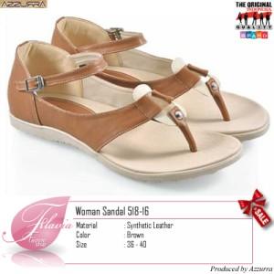 harga Sepatu Sandal Casual Santai Wanita Flat Ankle Strap   518-16 Tokopedia.com