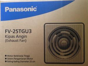 Exhaust Fan Plafon / Ceiling Panasonic FV-25TGU