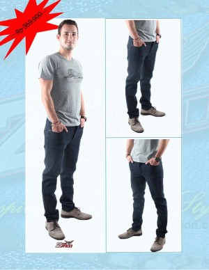 ... 2ndRED 136310 Jeans Slim Fit Straight Navy