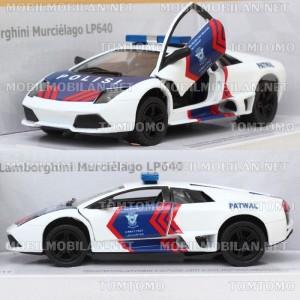 harga Diecast Lamborghini Murcielago Patwal PJR Polisi Polantas Miniatur Tokopedia.com