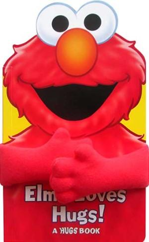 harga Sesame Street Elmo Loves Hugs! Board Book with Plush Huggable Arms Tokopedia.com