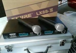 harga microphone mic wireless SHURE LX 88 III UHF professional (handheld) Tokopedia.com
