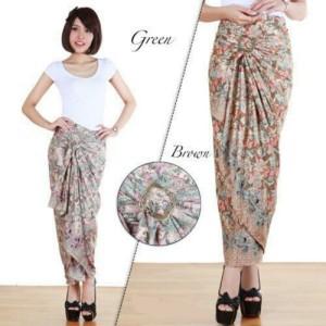 Rok bawahan panjang cotton batik lilit katun long maxi skirt Bytava