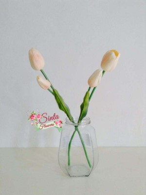 Bunga tulip,bunga,flowers,shabby chic,bunga plastik,dekorasi,vintage