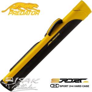 Predator CSP2X4Y - 2x4 Sport Hard Cue Case - Tas Stick Billiard Biliar