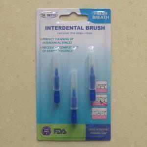 Interdental Brush Dr. Smith Sikat gigi untuk sela-sela behel atau gigi
