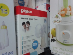 Pigeon manual breastpump pompa ASI Manual