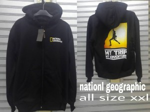 Jaket National Geographic MY TRIP MY ADVENTURE