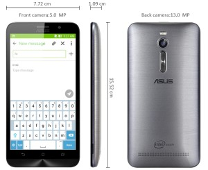 harga Asus Zenfone 2 ZE551ML 1.8GHz Ram 2GB Internal 32GB Garansi Distrbutor Tokopedia.com