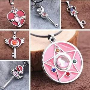 harga Kalung Sailormoon Liontin set 12 Gantungan Kunci Sailor moon Tokopedia.com