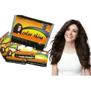 BSY NONI Dark Brown - BOX [ISI 12 SACHET] / BSY Color Shine Shampoo
