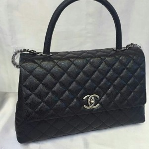 Jual JUAL TAS CHANEL KELLY HITAM CAVIAR MEDIUM MIRROR QUALITY 1 1 ... e214831899