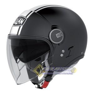 Helm Nolan N21 Visor Duetto Flat black Helm Caferacer & Scooterist