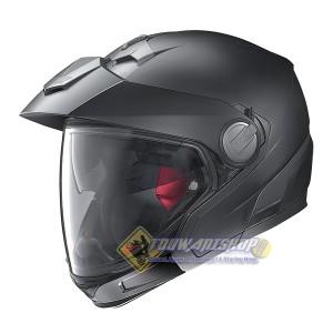 Helm Nolan N40 Full Classic Flat black, bisa dirubah berbagai model