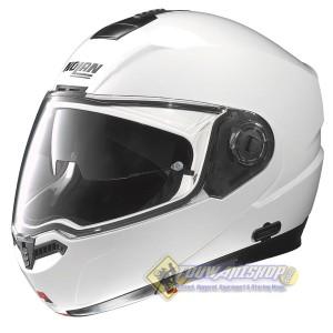 Helm Nolan N104 Classic Metal white, modular touring not AGV Shoei