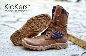 SEPATU MURAH KICKERS DELTA HIGH SAFETY BOOTS COKLAT