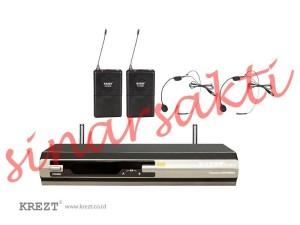 Mic wireless Krezt KX 8828L ( headset )
