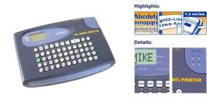 CASIO KL-60 PAKET (1PC LABEL 9MM & 6PC BATERAI) - LABEL PRINTER