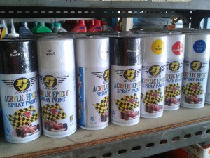 harga Cat Pelapis Semprot Acrylic Epoxy Spray Paint RJ LONDON 150CC Tokopedia.com