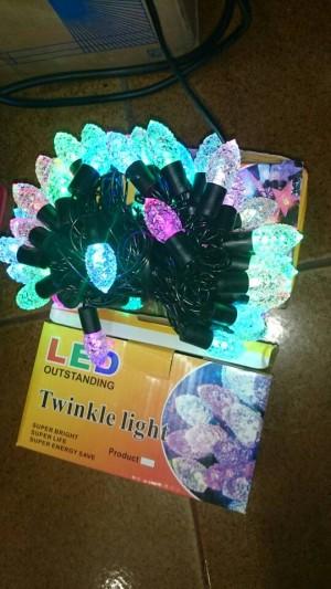 Lampu natal LED bentuk Pohon pinus