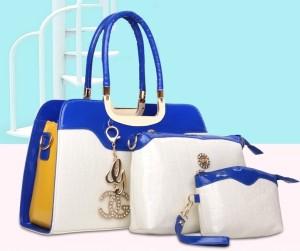 harga tas import wanita tenteng slempang bluewhite redwhite 3 in 1 kerja Tokopedia.com